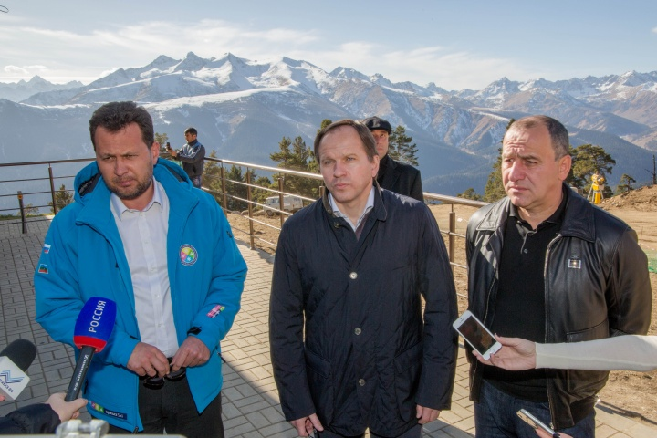 Приоритетом в рамках КСК, на сегодняшний день, является курорт «Архыз» - по словам министра по делам Северного Кавказа