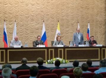 Делегация  Карачаево-Черкесии приняла участие в заседании Временной комиссии в Пятигорске