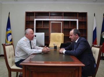 Рашид Темрезов встретился с заместителем Генерального прокурора России Иваном Сыдоруком
