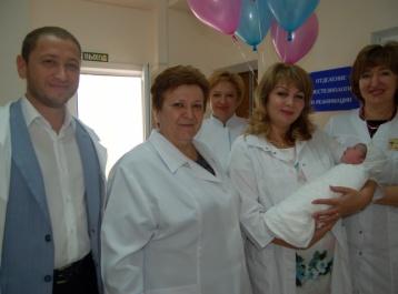 В День единения новорожденные и их родители  получили подарки